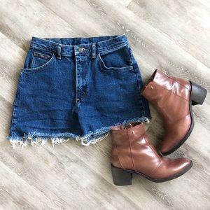 Wrangler Vintage Denim Jean Shorts